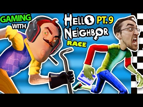 Xxx Mp4 HELLO NEIGHBOR Vs ME BASEMENT RACE CHALLENGE IRL GAMING Alpha 3 SECRETS REVEALED FGTEEV Part 9 3gp Sex