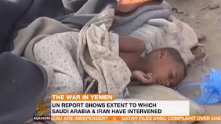 The War in Yemen UN Report Shows extent to which saudi arabia & iran have intervened