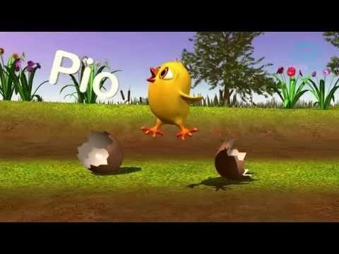 Puiul Piu si animalele fermei