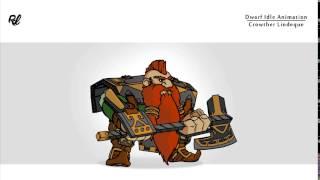 Dwarf Idle Animation