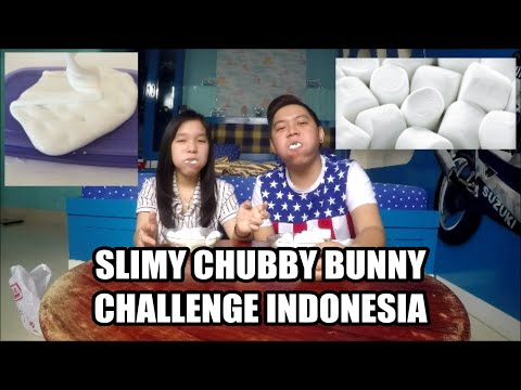 Slimy Chubby Bunny Challenge Indonesia!