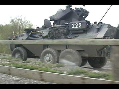 Swiss Military Grizzly drills in Thun, Switzerland.