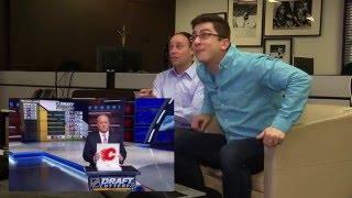 Jeff Marek, Steve Dangle, and Luke Fox's live reaction to the Maple Leafs winning the 1st pick