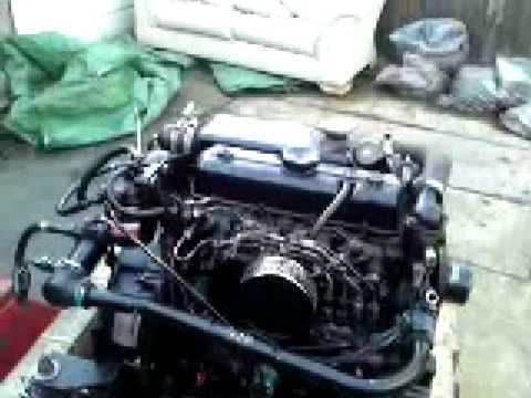 Thornycroft 80D (Mitsubishi K4d Engine) Same as Vetus