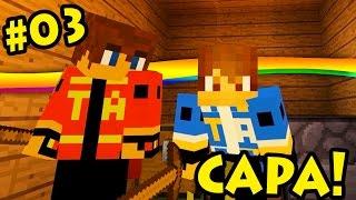 Minecraft Hardcore, NOS TEMOS CAPAS!