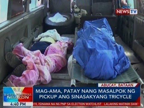 Xxx Mp4 BP Mag Ama Patay Nang Masalpok Ng Pickup Ang Sinasakyang Tricycle Sa Bataan 3gp Sex
