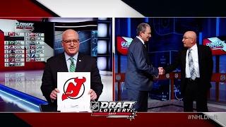Devils, Flyers & Stars big winners at NHL Draft Lottery