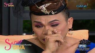 Sarap Diva: Super Tekla, naiyak sa kanyang pagkawala sa 'Wowowin'