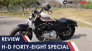 Harley-Davidson Forty Eight Special Review | NDTV Carandbike