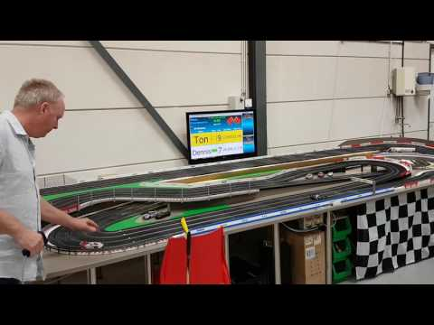 Analog ninco track with racecoördinator software