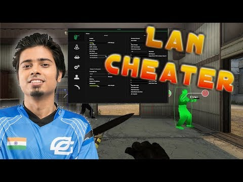 Pro Goes Blatant CHEATER at Lan Tournament Final Game CS GO