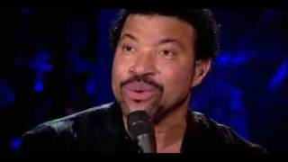 Lionel Richie - 'Hello, is it me your're looking for?'