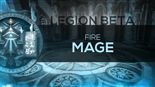 FinalBossTV - WoW LEGION Beta | Fire Mage [2nd Pass]