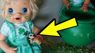 BABY ALIVE Catches A Real LEPRECHAUN On St. Patricks Day!