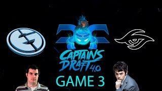 Captains Draft 4.0 - EG vs Secret Game 3