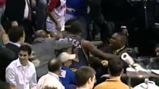 Ron Artest-Ben Wallace Fight in 2004 (Full Original Video!)