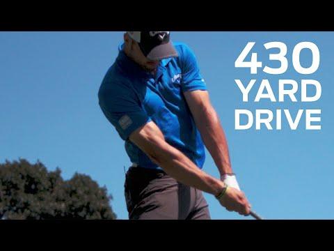 Long Drive Champ Hits the Green on 430-Yard Par 4 | Golf Assassins