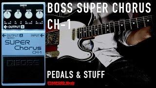BOSS CH-1 Super Chorus pedal demo