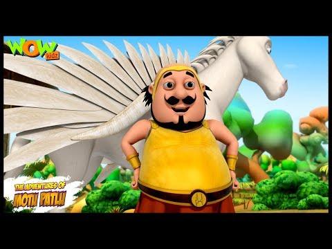 The Gang of Thugs Motu Patlu in Hindi 3D Animation Cartoon As on Nickelodeon