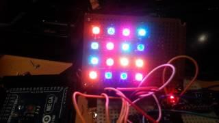 16 channel dmx RGB controller