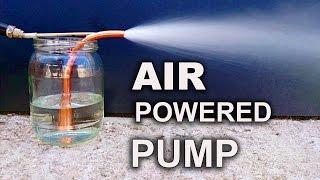 Make A Simple & Powerful Pump - The Venturi Pump