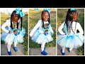 Download Video Download Pooh Turns 7 Birthday Hairstyle Braids & Beads 3GP MP4 FLV