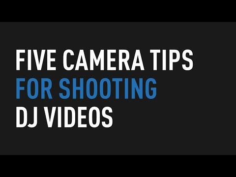 Xxx Mp4 Five Camera Tips For Shooting DJ Videos Tips And Tricks 3gp Sex