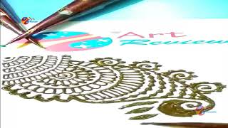 How to make henna Mehndi Designs for Bridal ❤❤ Simple Mehendi Design 2018 series VIII