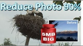 Reduce all your Pictures with one click up to 90% for FREE - FREE FILEminimizer Picture