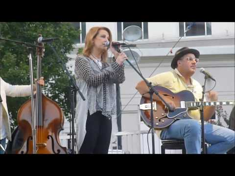 Patty Loveless with the  Time Jumpers at Nashville's Walk of Fame - Sunday 9-25-16