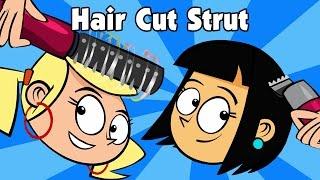 Kids song HAIR CUT STRUT children