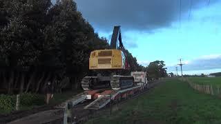 Loading the Tiger Cat Harvester