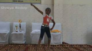 Shreya Reddy's first solo dance performance