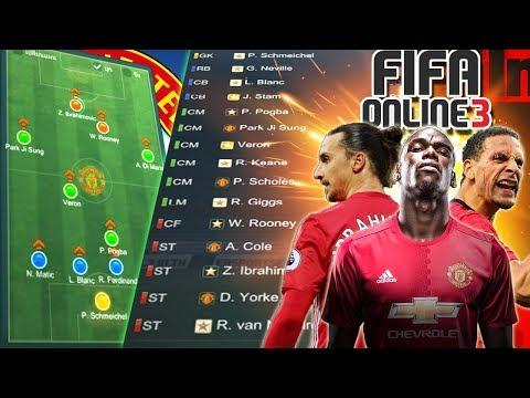 ทำฟูลทีมแมนยู ในฝัน เทพสุดใน3โลก [FIFA Online 3]