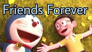 Tere Jaisa Yaar Kaha Yara Teri Yari KO True friends Nobita, Shizuka and Doraemon Friendship Song  