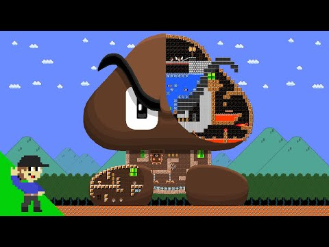 Level UP Mario vs the Giant Goomba Maze