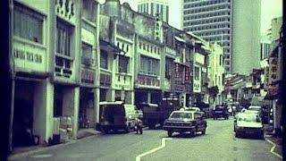 Kuching, Sarawak, at Xmas 1987 (1)