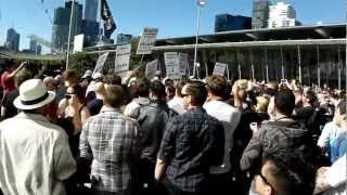 Anti-Islam protest in Australia