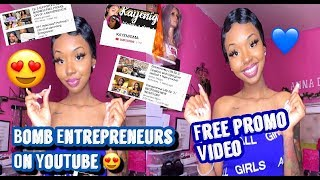 GREAT ENTREPRENEURS ON YOUTUBE 😍 + ANOTHER SUPPORT SMALL BUSINESS VIDEO !