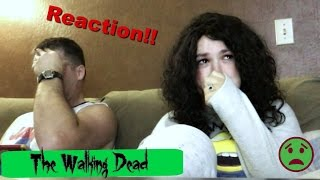 Moms Reaction to The Walking dead (season 6 episode1) (Daily #792)