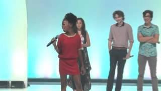 """Skai Jackson from Disney's """"Jessie"""" at Premiere in Orlando"""