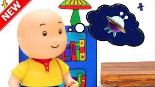 NEW! STAR GAZING | Funny Animated cartoons Kids | WATCH ONLINE | Caillou Stop Motion | Cartoon movie