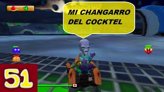PAC-MAN WORLD RALLY PSP-MI CHANGARRO DEL COCKTEL-BATALLA BINGE