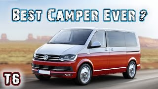 VW T6 2017 California - VW Bus Campervan Overview