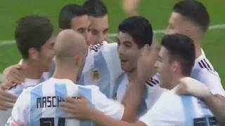 Argentina vs Nigeria 2-4 All goals 14/11/2017