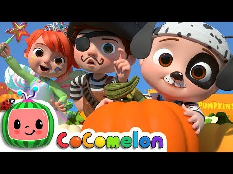 Pumpkin Patch Fall Halloween Song CoCoMelon Nursery Rhymes & Kids Songs