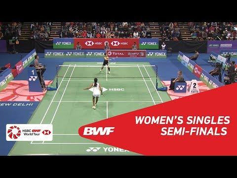 WS   PUSARLA V. Sindhu (IND) [1] vs Ratchanok INTANON (THA) [3]   BWF 2018