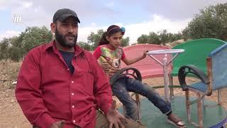 أبو قصي.. نازح من مدينة درعا أراد أن يُبهج أطفاله الستة في عيد الفطر بهذه الطريقة