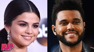 Selena Gomez And The Weeknd KISSING