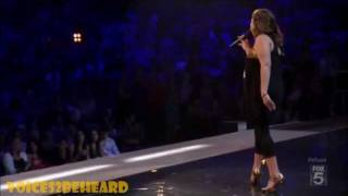 Melanie Amaro - US X Factor  2011 Stunning Audition
